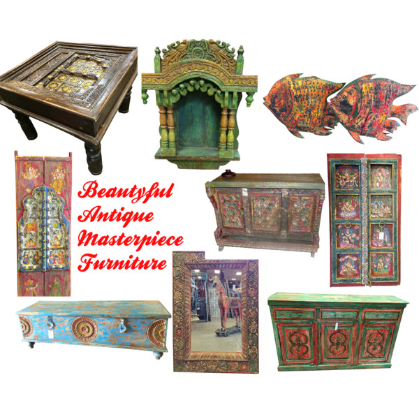 Old World Eclectic Style Home Decor Furniture Eclecticfurniture Indianfurniture Indian