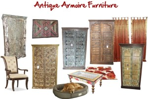 Antique furniture from indian indian decor india for Mogul interior designs